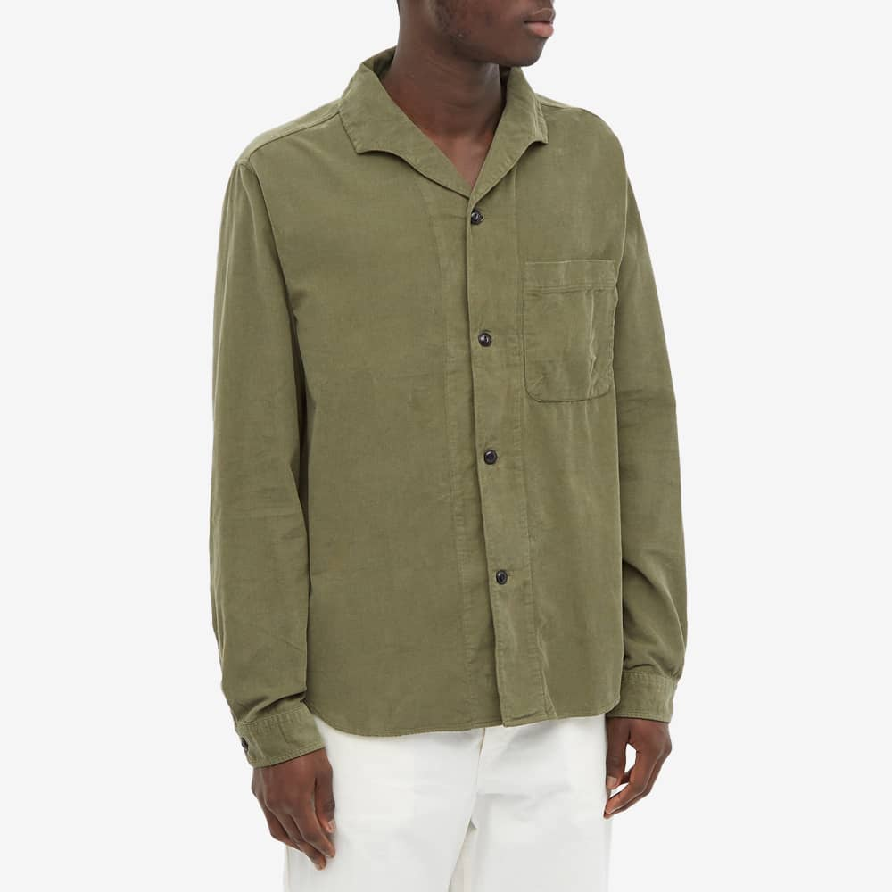 Albam Miles Button Down Shirt - Olive