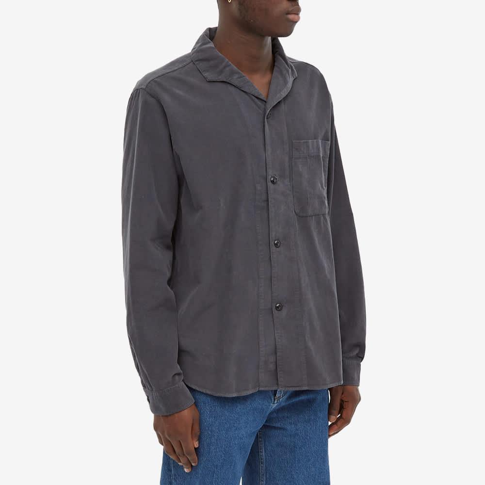 Albam Miles Button Down Shirt - Charcoal