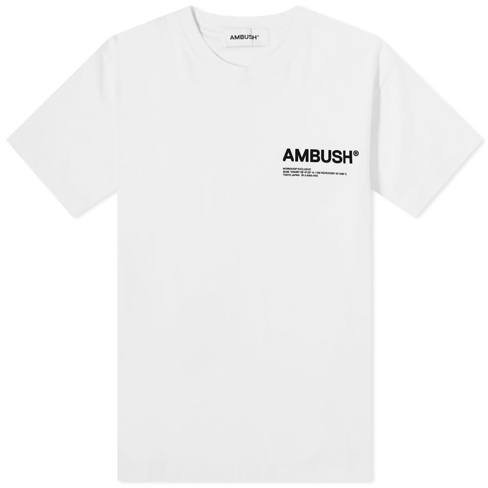 Ambush Workshop Logo Tee - Tofu & Black