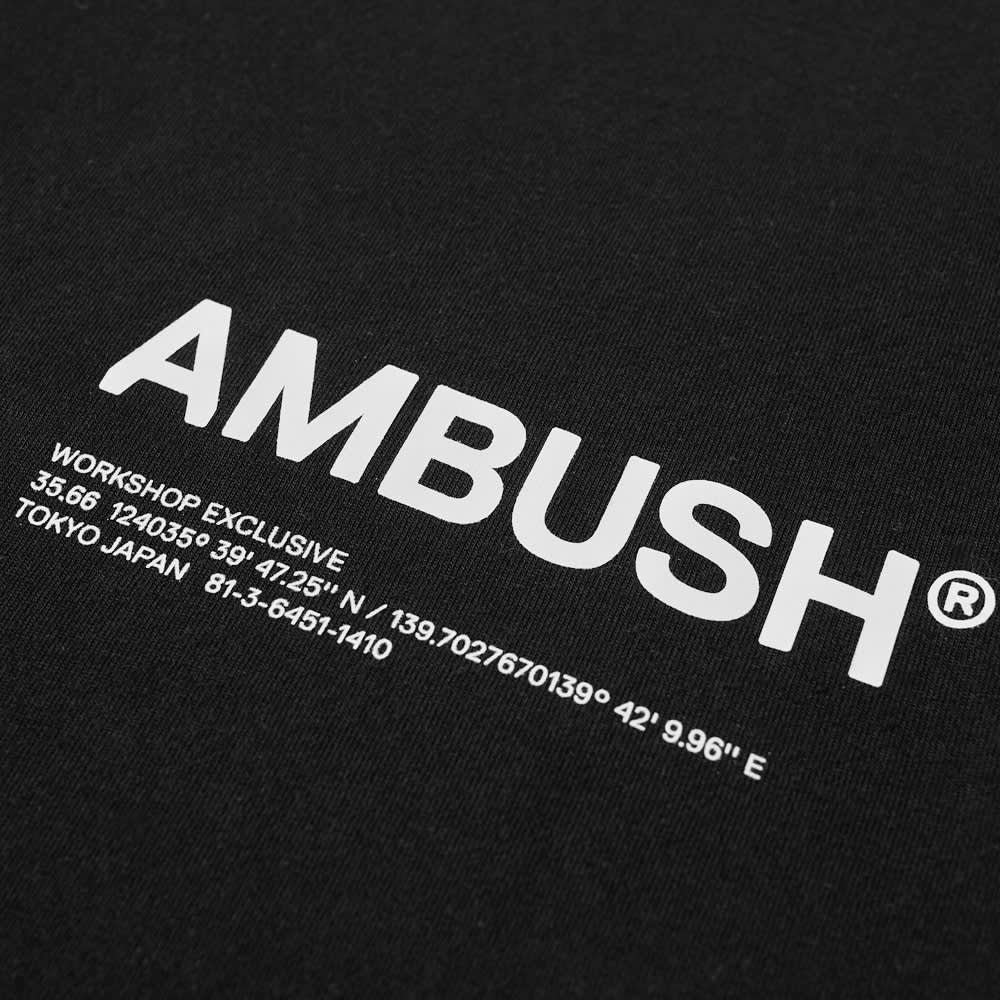Ambush Workshop Logo Tee - Black & Tofu