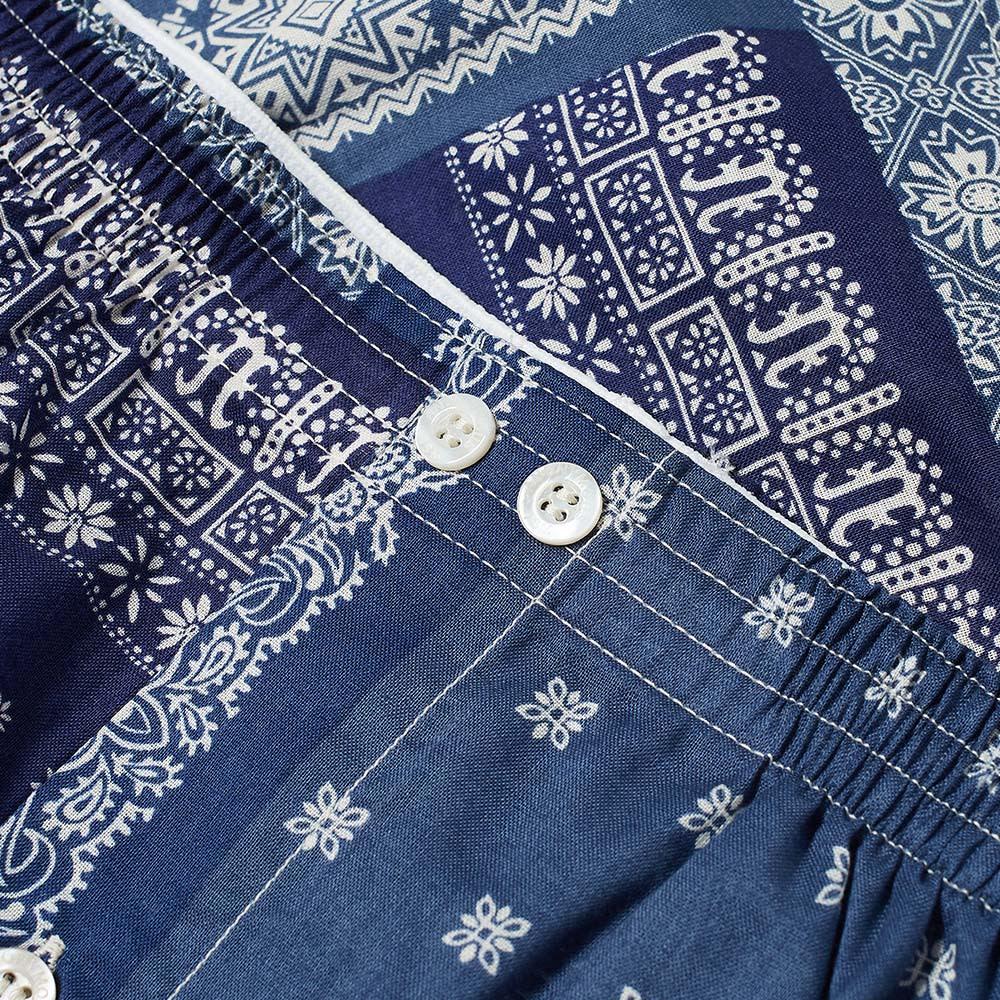 Anonymous Ism Bandana Patchwork Boxer Short - Blue