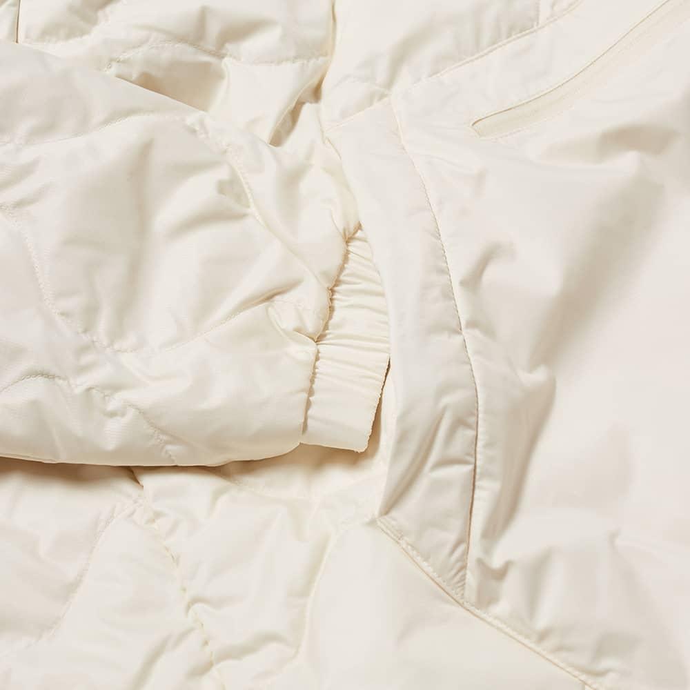 Adidas Down Quilt Half Zip Jacket - Wonder White