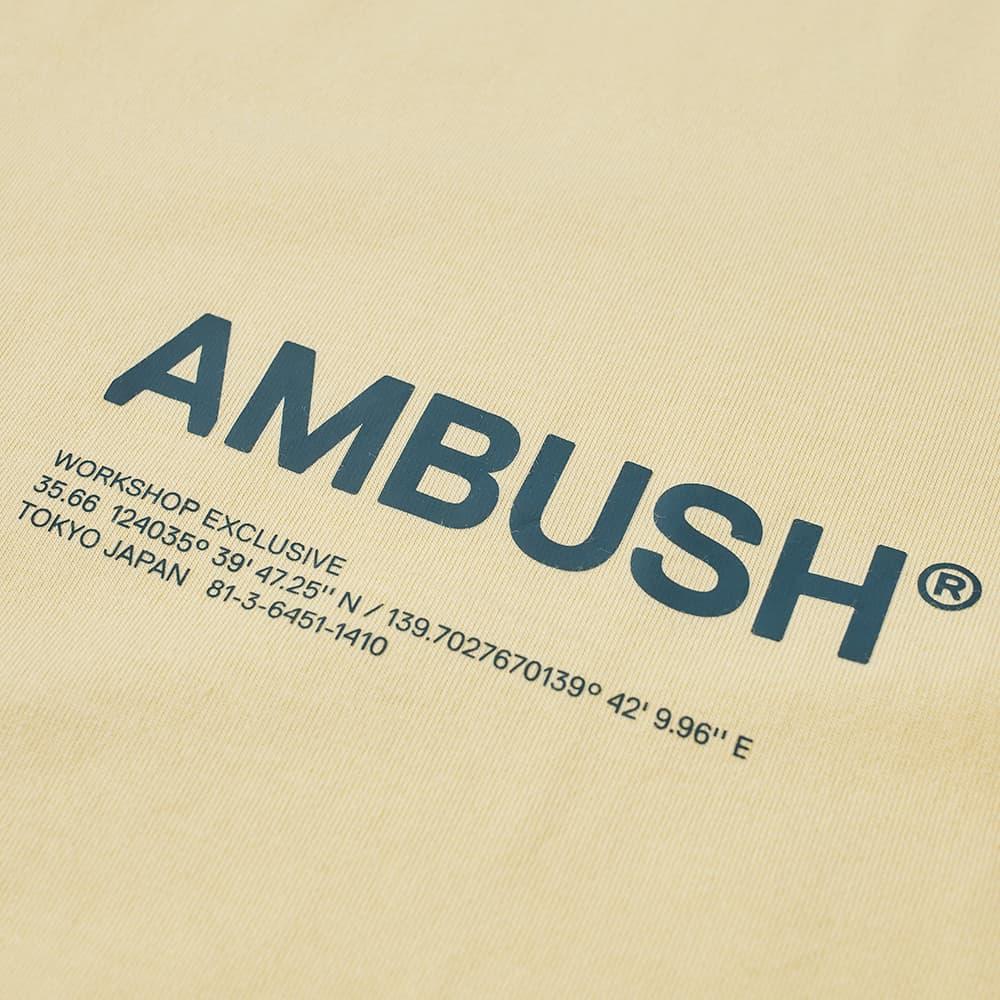 Ambush Workshop Logo Tee - Yellow