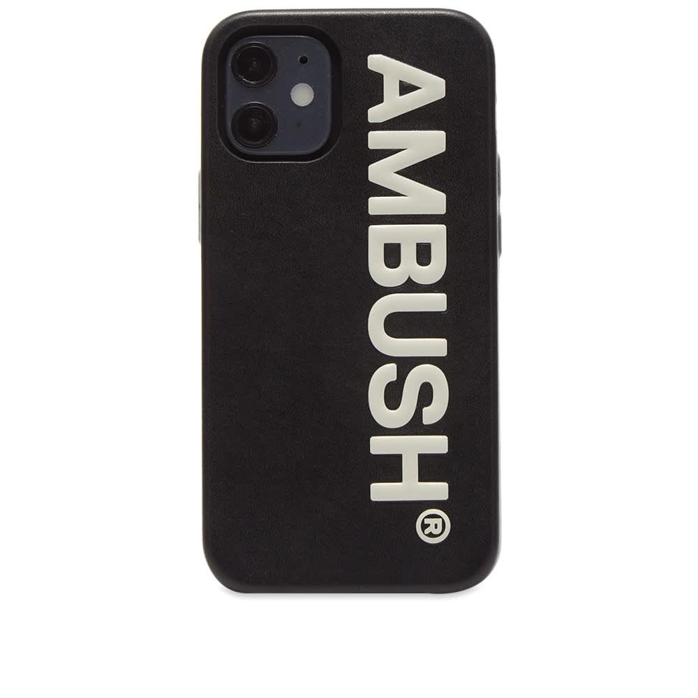 Ambush Logo iPhone 12 Mini Case - Black Tofu