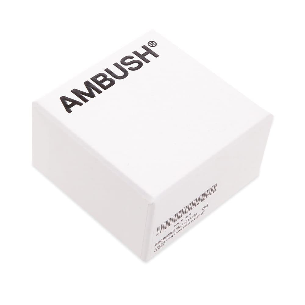 Ambush Square Cut Gem Necklace - Platino Re