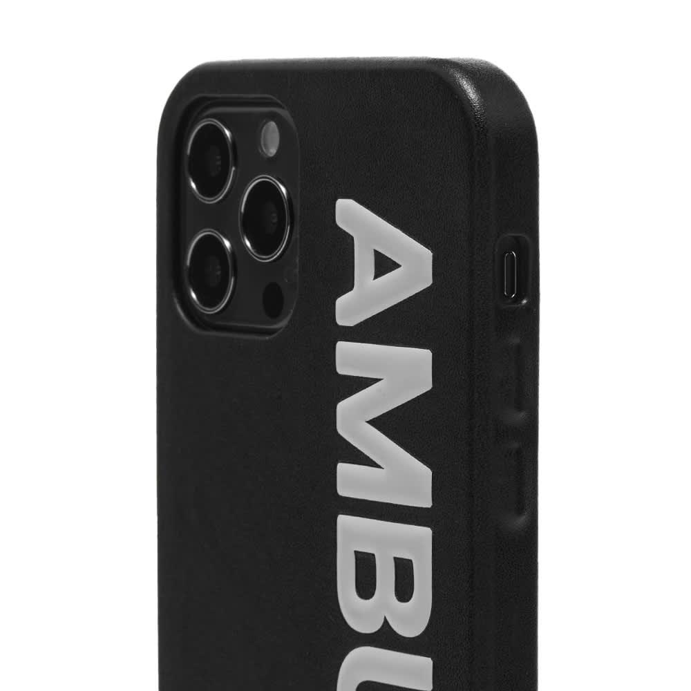 Ambush Logo iPhone 12 Pro Case - Black Tofu