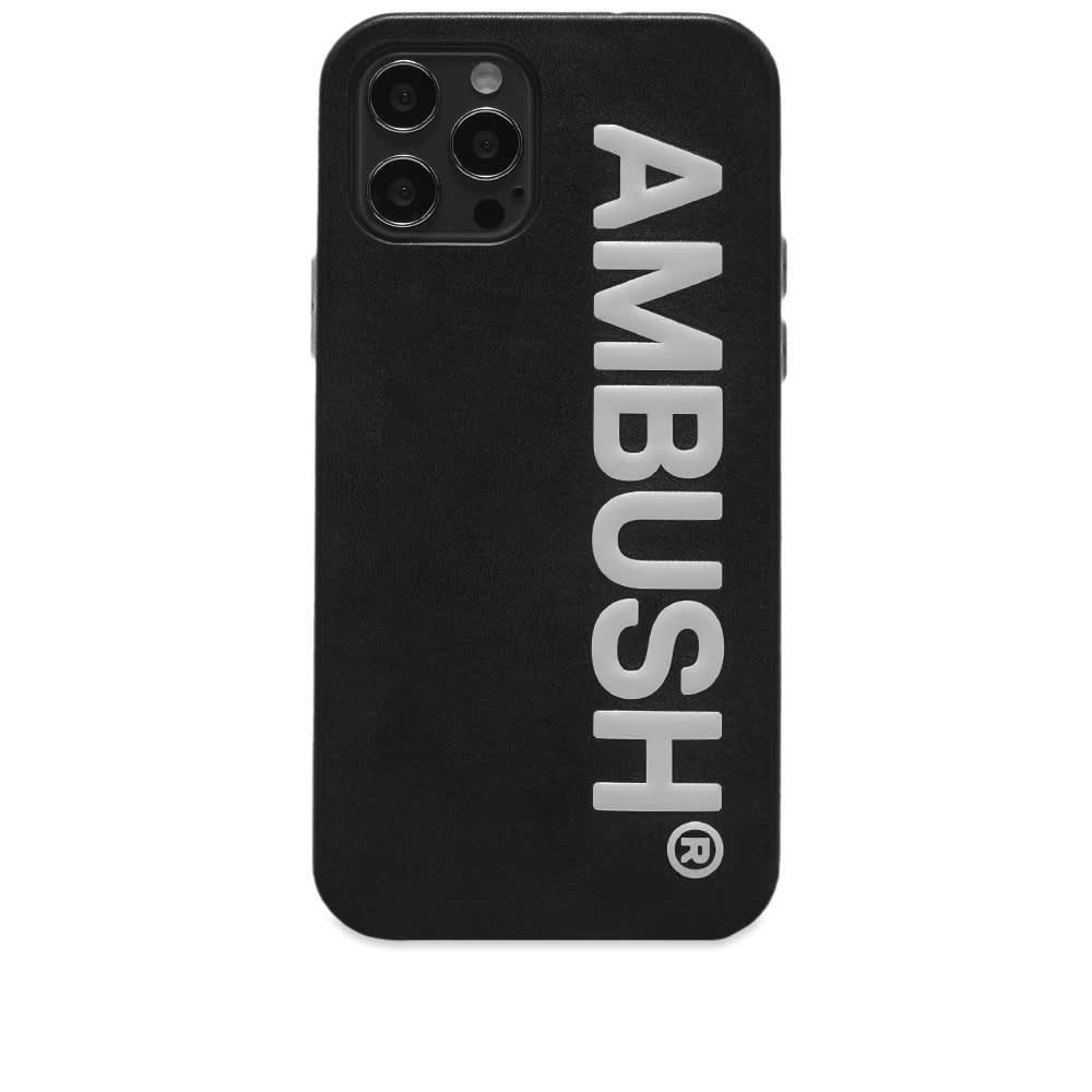 Ambush Logo iPhone 12 Pro Max Case - Black Tofu
