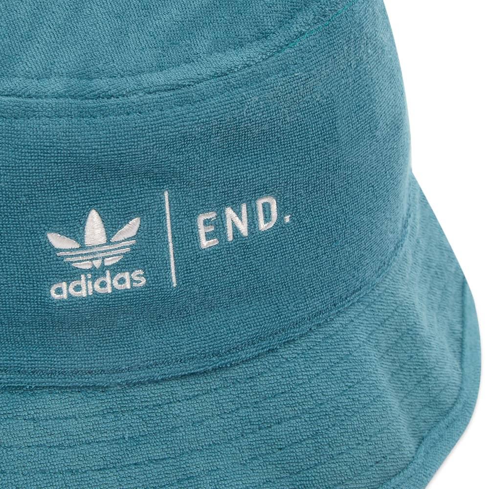 END. x Adidas Tennis Club Bucket Hat - Future Ocean