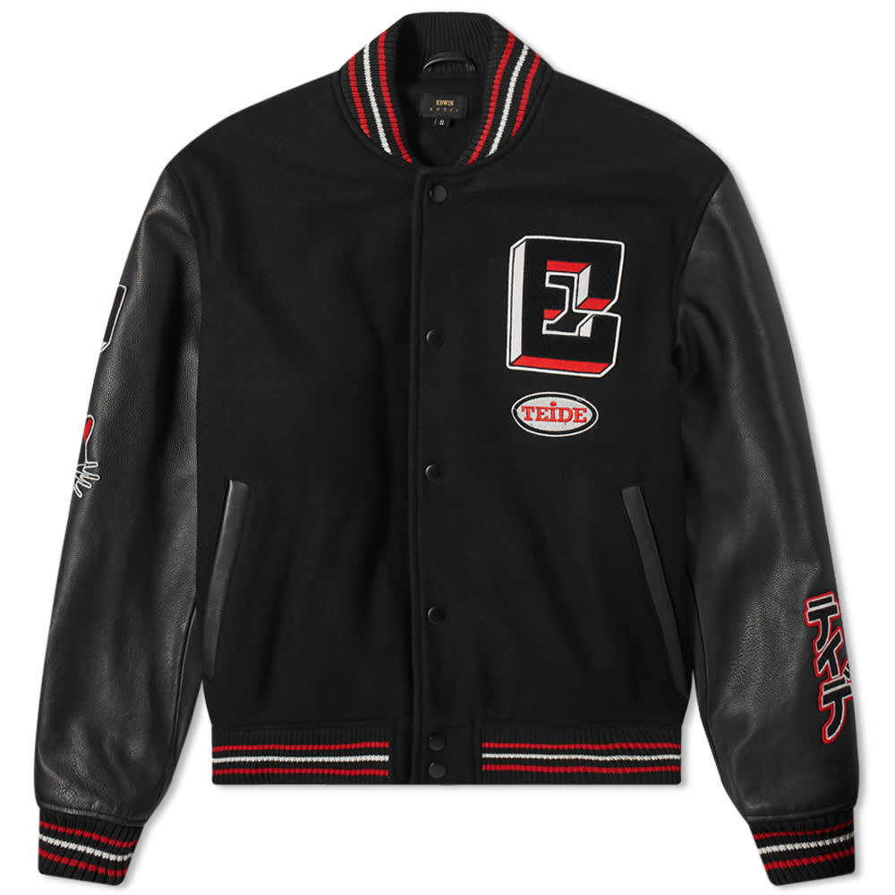 Edwin Varsity Chapter Jacket - Black