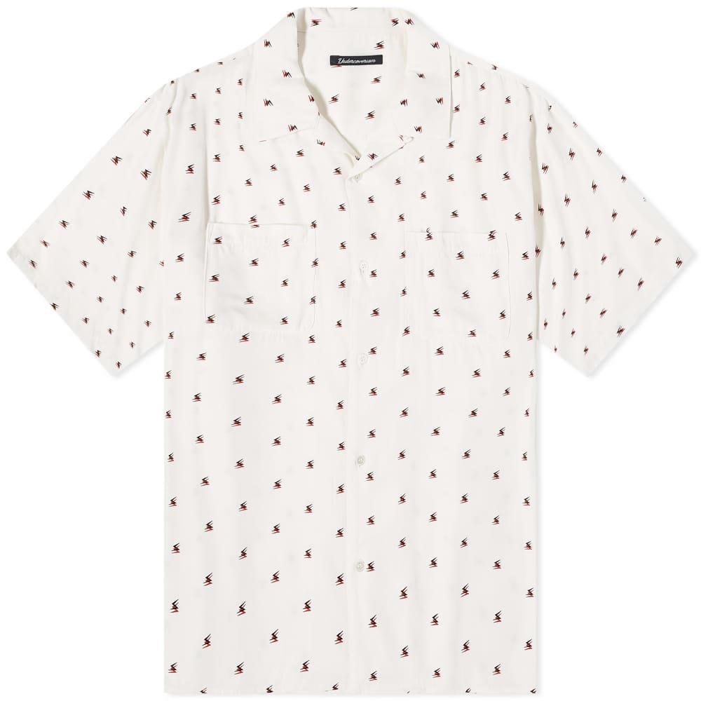 Undercoverism Oversized Vacation Shirt - White