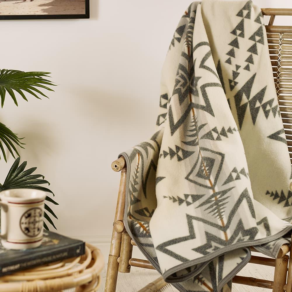 Pendleton Napped Blanket - Grey