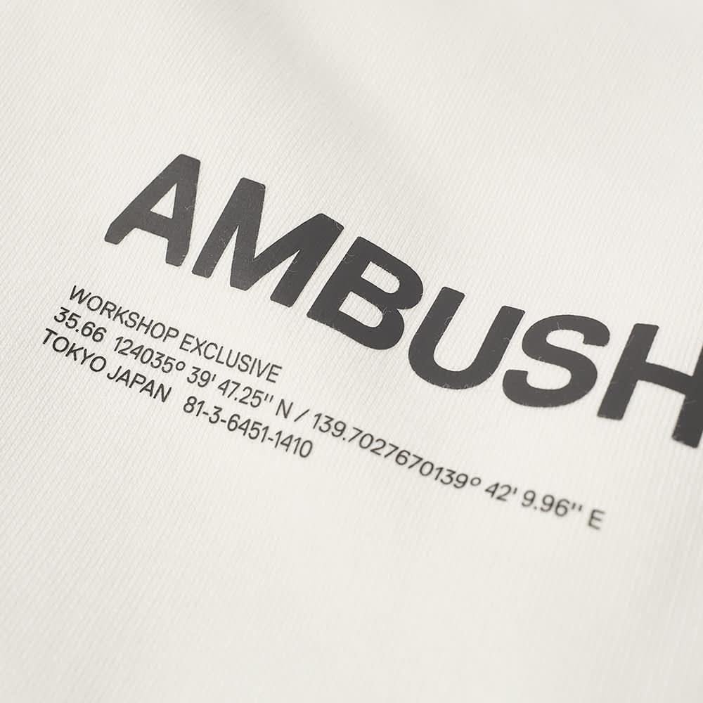 Ambush Logo Popover Hoody - Tofu & Black