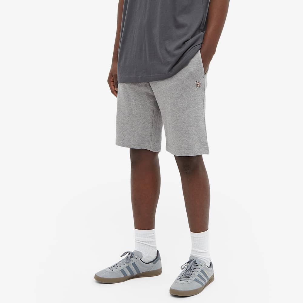 Paul Smith Zebra Sweat Short - Grey Marl