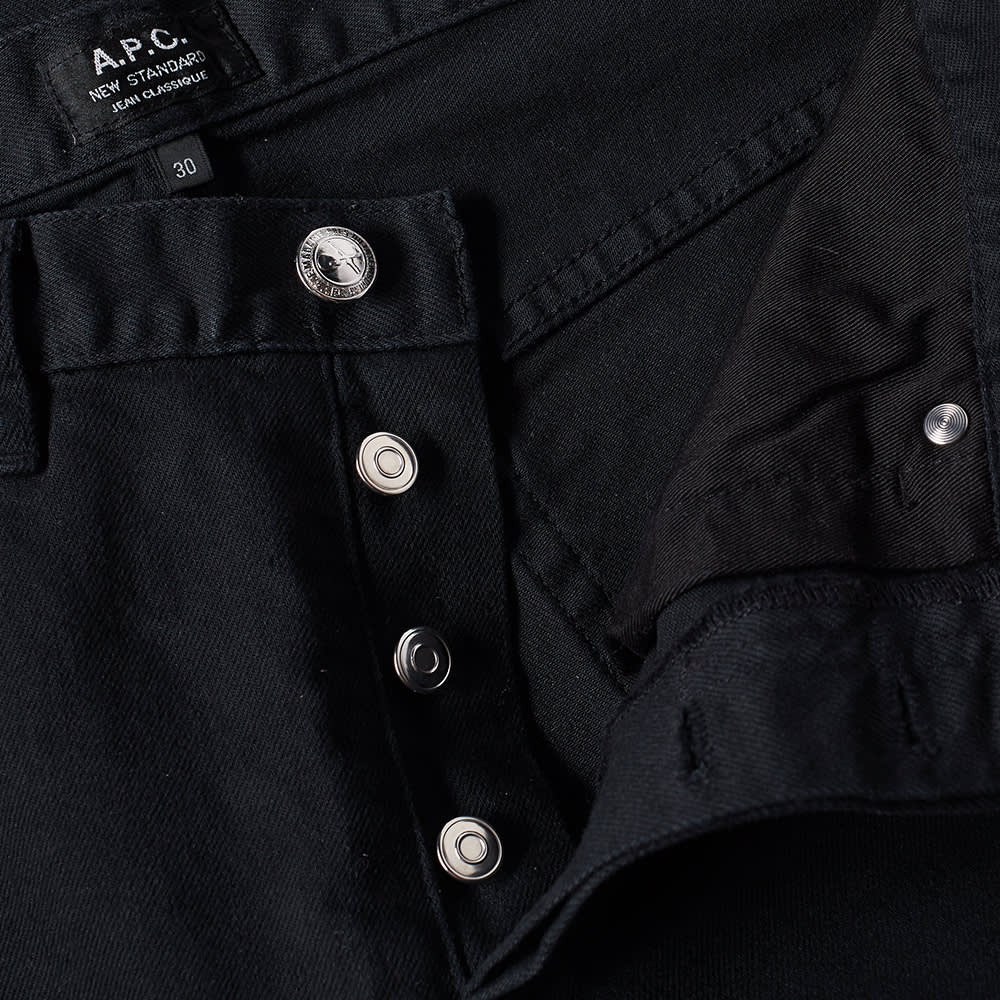 A.P.C. New Standard Jean - Washed Black