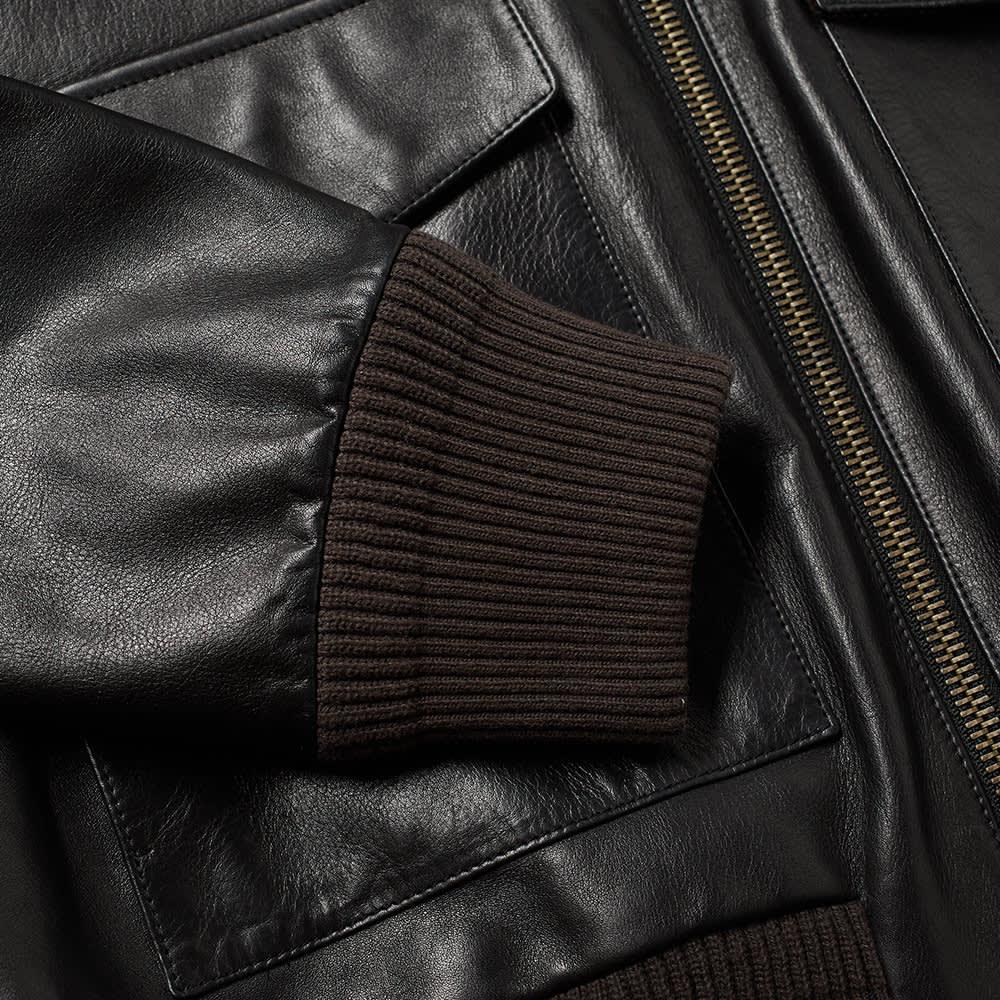 Acne Studios Lazlo Shearling Jacket - Black
