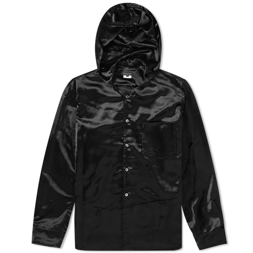 Comme des Garcons Homme Hooded Pocket Shirt - Black