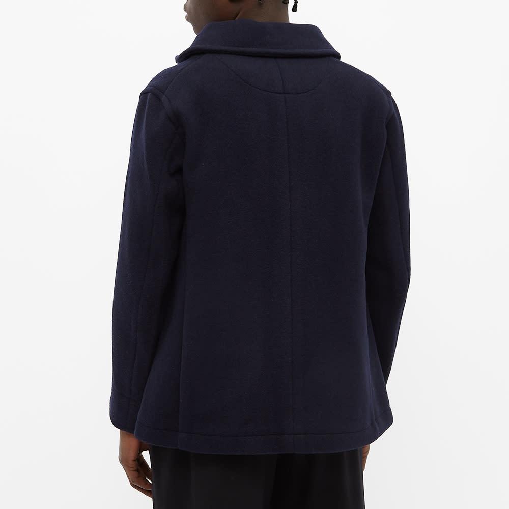 Danton Wool Coat - Navy