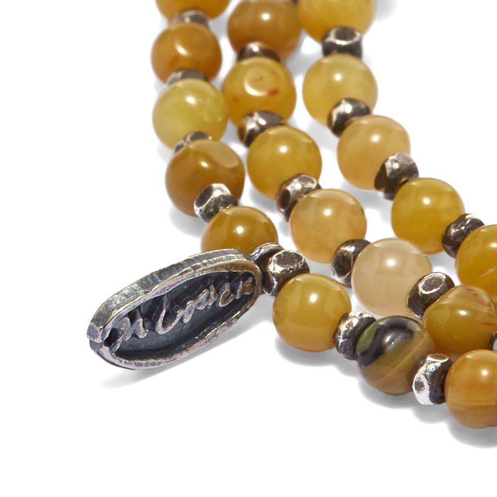 M. Cohen Silver Agora Bracelet/Necklace - Jasper