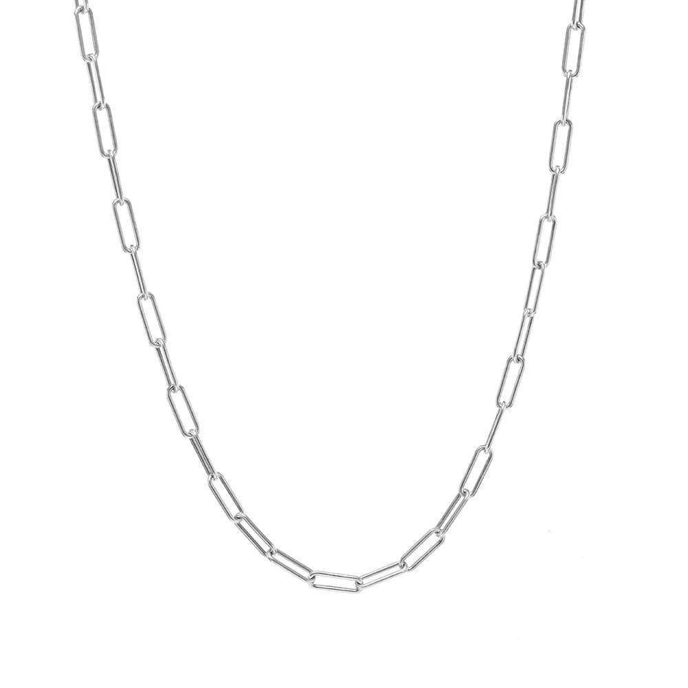 M. Cohen Ovalado Necklace - Silver