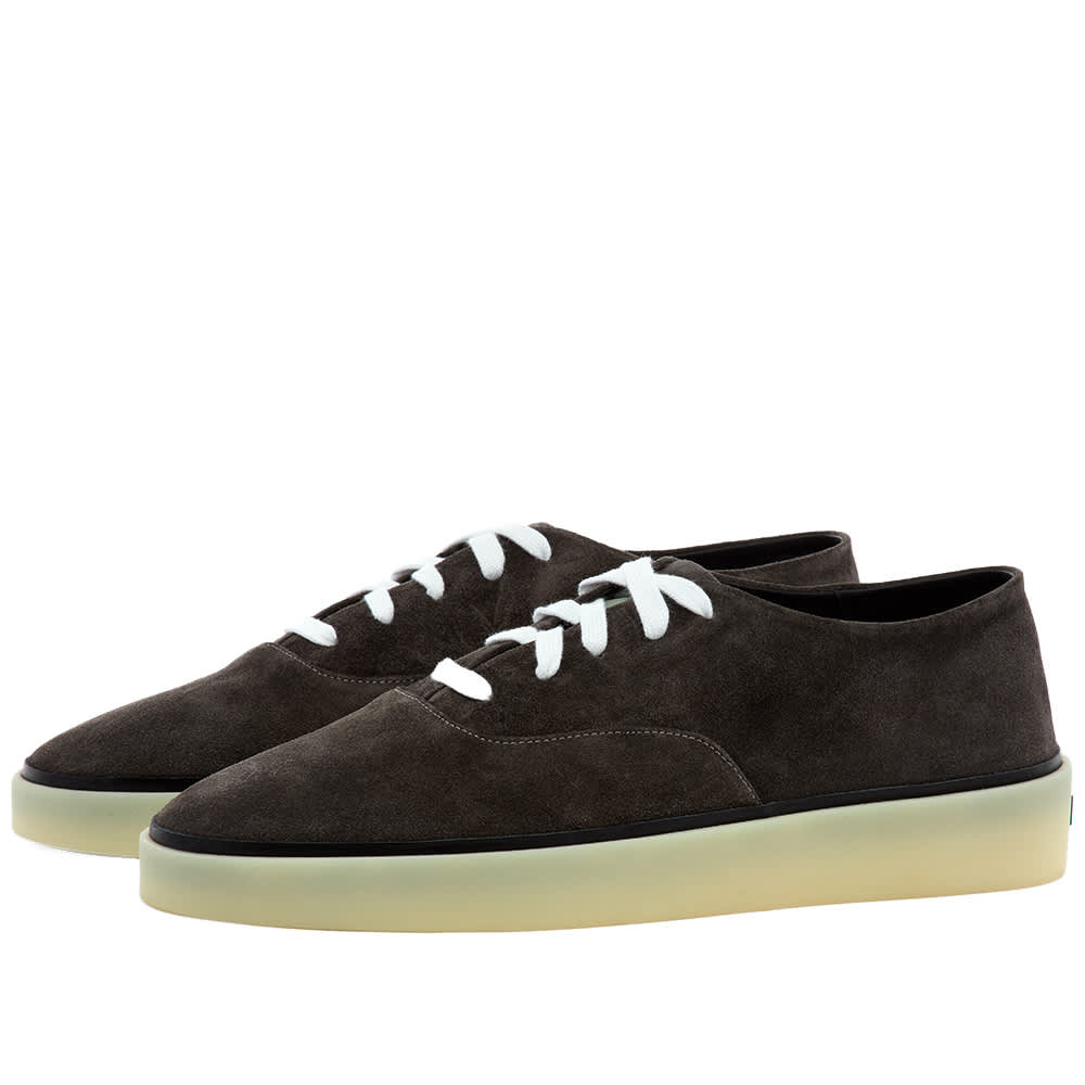 Fear of God x Zegna Laced Suede Sneaker - Grey