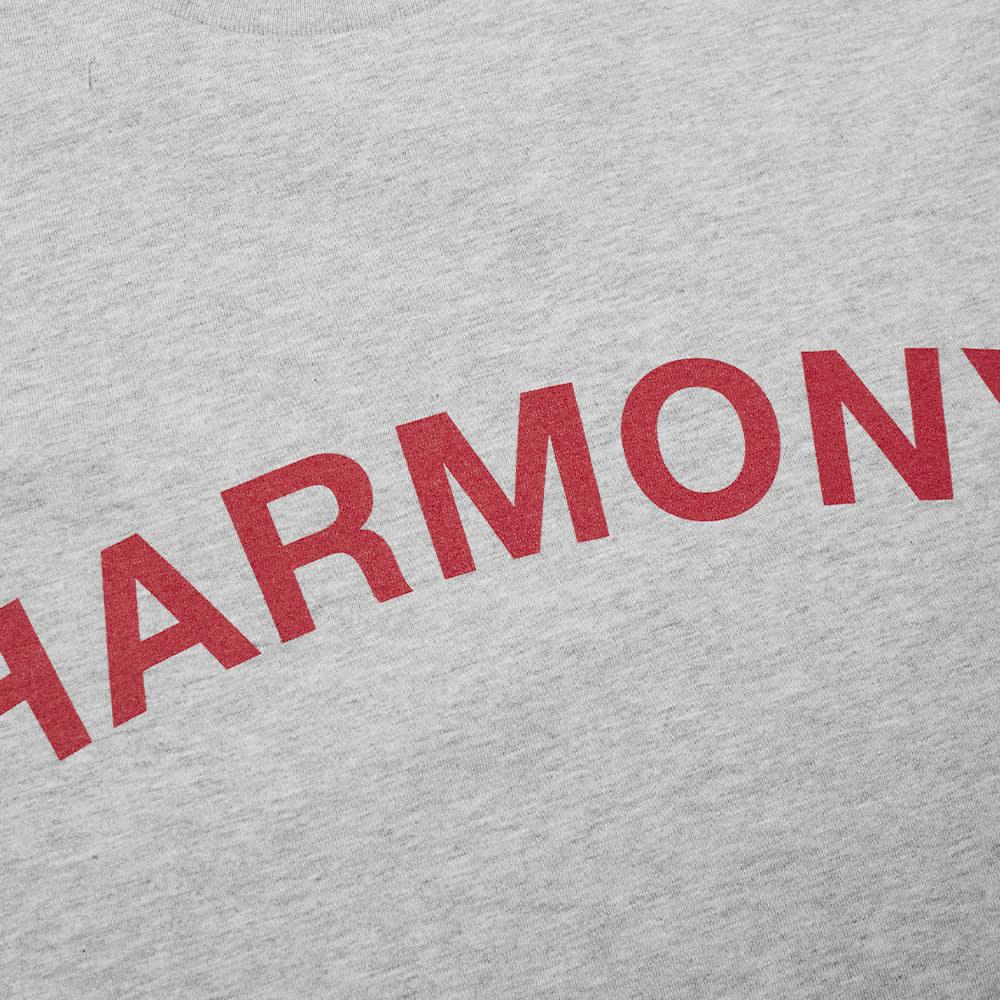 Harmony Teo Logo Tee - Ash Grey