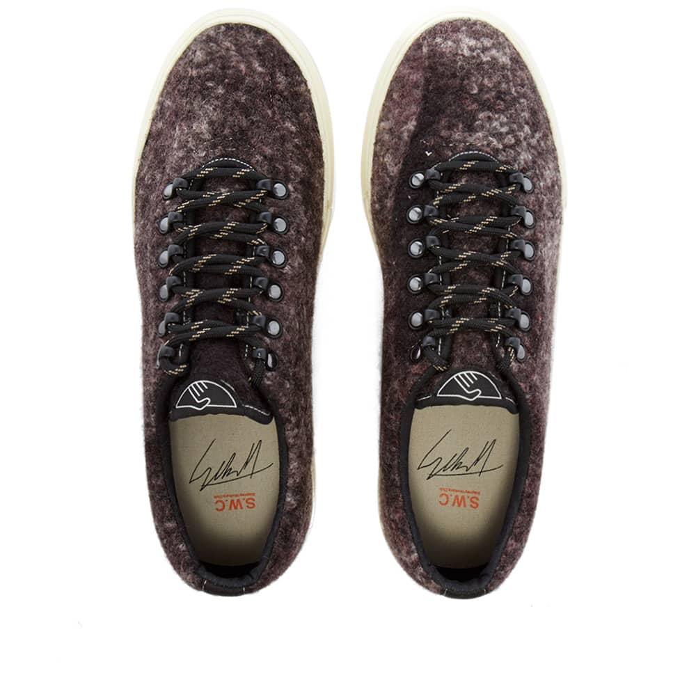 Stepney Workers Club Dellow Trophy Boucle Sneaker - Nebula Dark