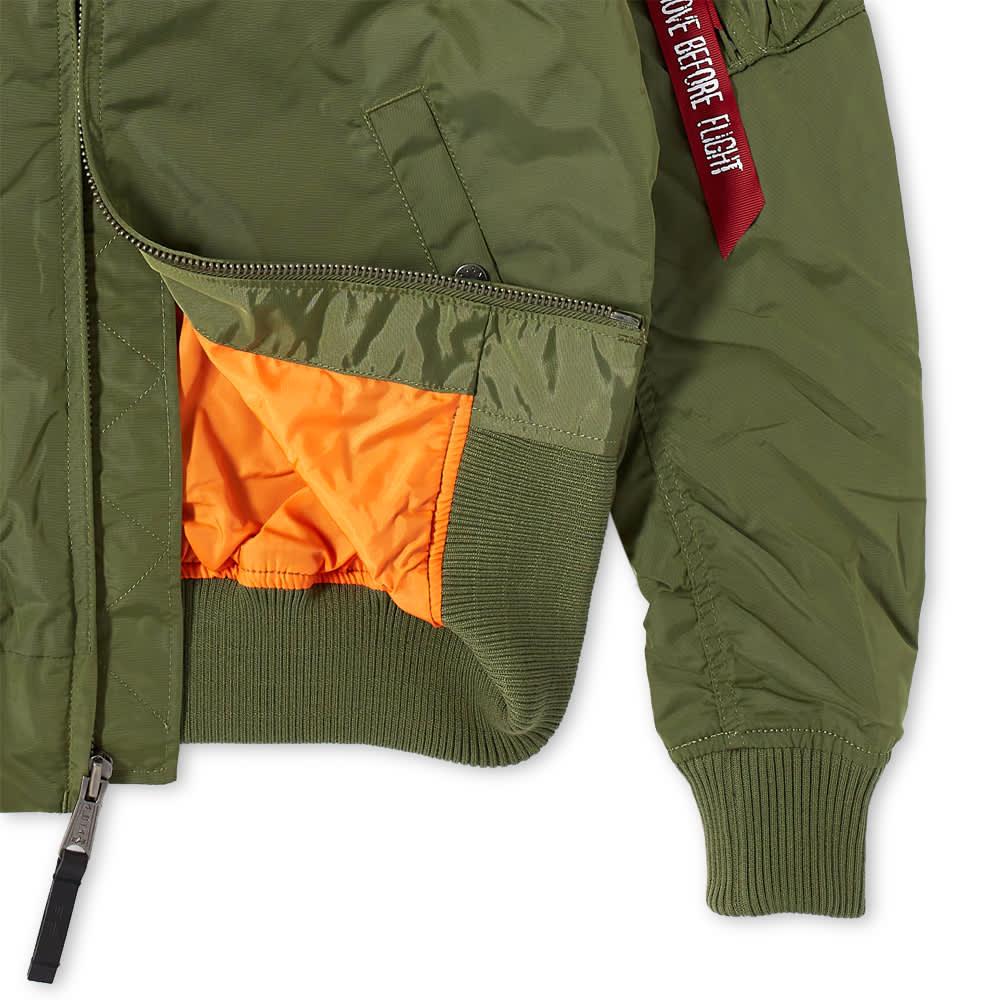 Alpha Industries MA-1 TT Jacket - Sage Green