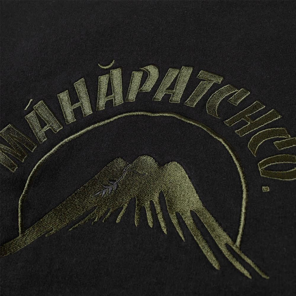 Maharishi Maha Patch Embroidered Crew Sweat - Black