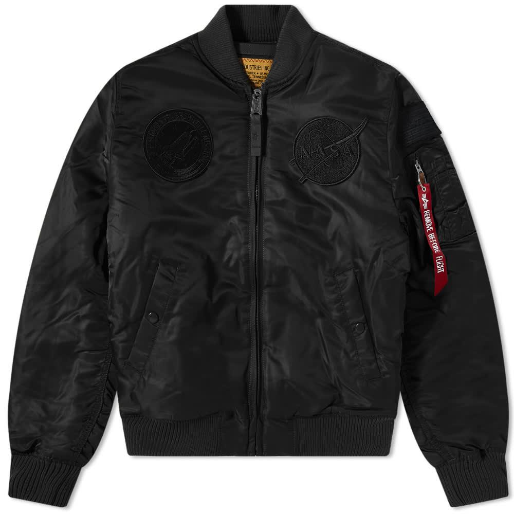 Alpha Industries MA-1 VF NASA Jacket - All Black
