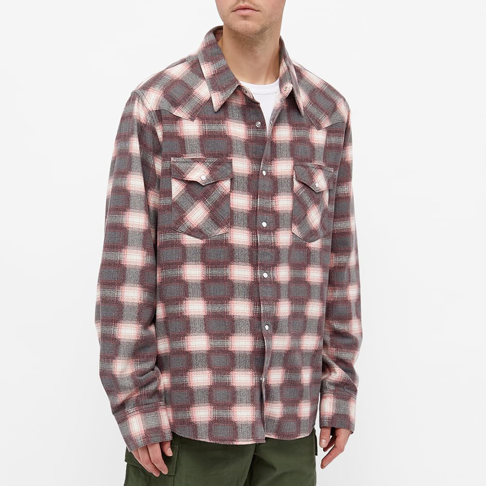 Visvim Bandito Check Shirt - Red