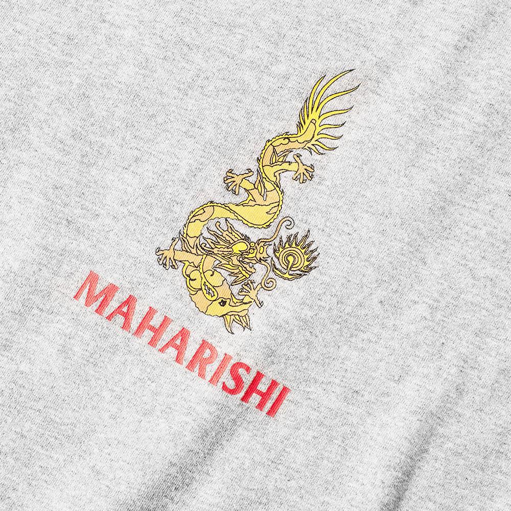 Maharishi Art Of War And Peace Tee - Grey Marl
