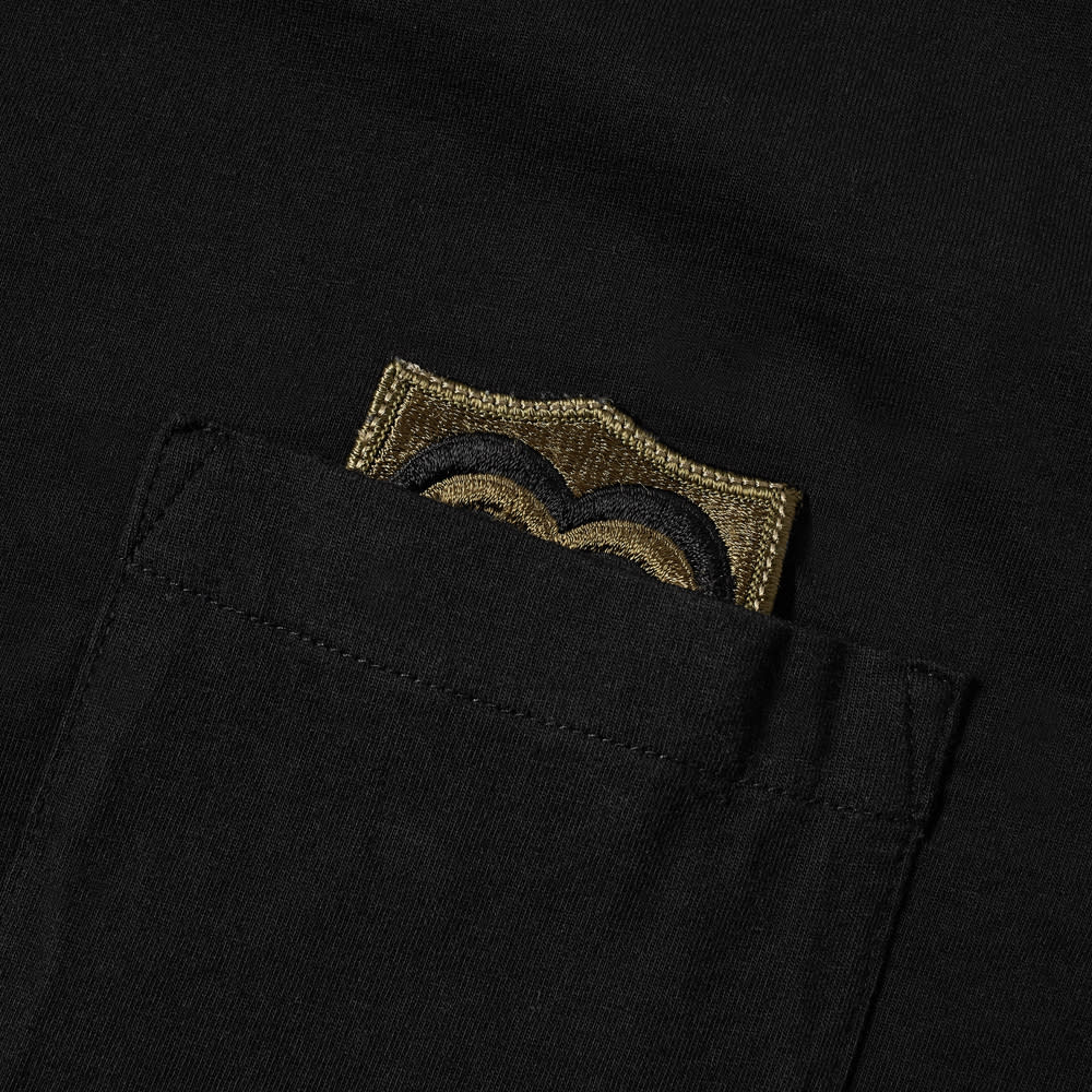 Maharishi Heart Of War Patch Pocket Tee - Black