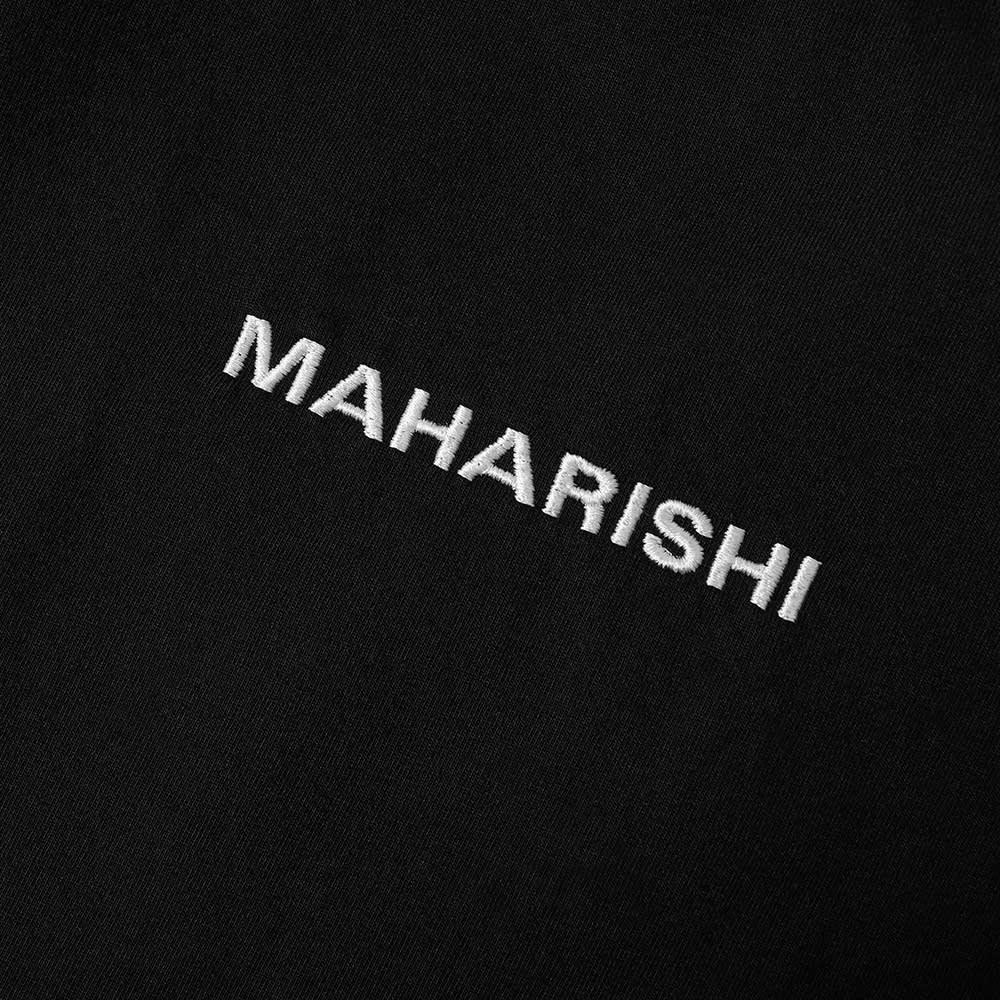 Maharishi Classic Logo Tee - Black