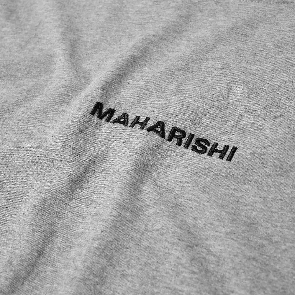Maharishi Classic Logo Tee - Grey Marl