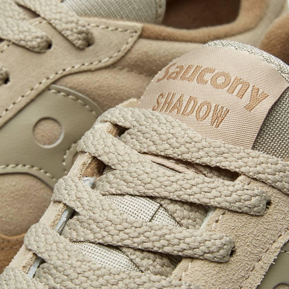 Saucony Shadow Original Suede - Light Tan & Taupe