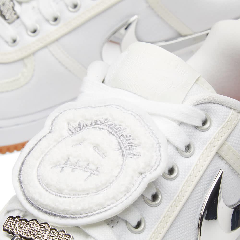 Nike Air Force 1 Low 'Travis Scott' - Triple White