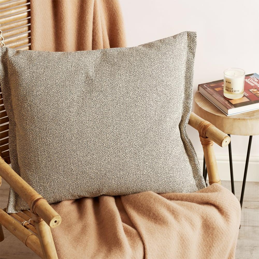 HAY Plica Sprinkle Cushion - Cream