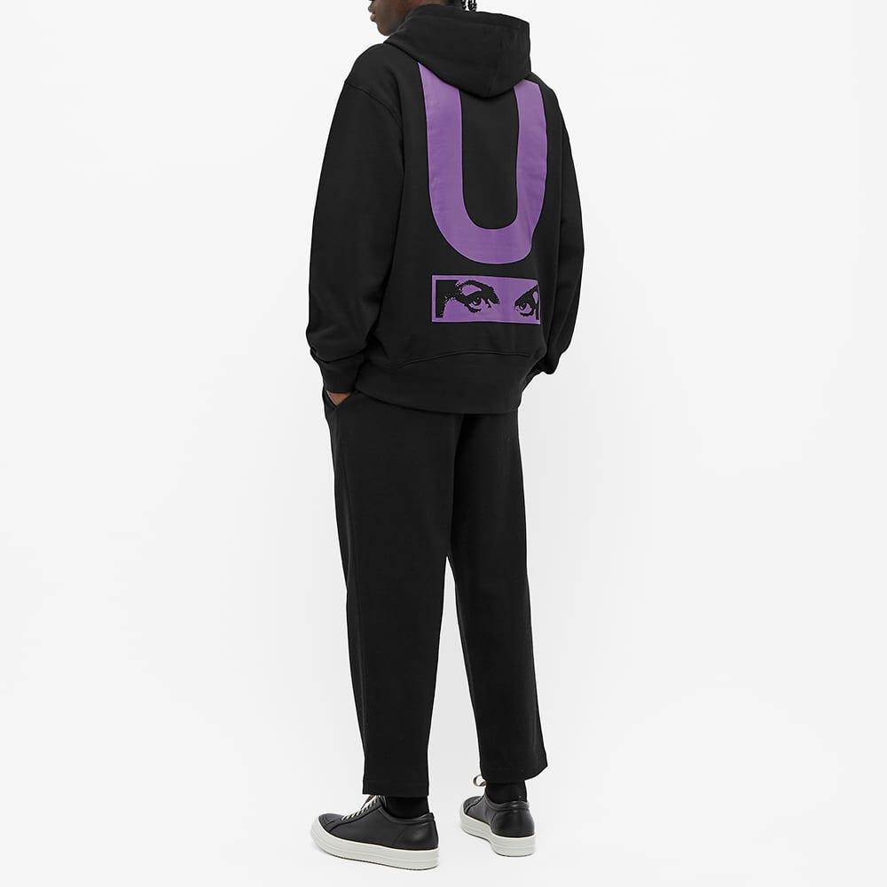Undercover x P.A.M. Dual Logo Back Print Popover Hoody - Black