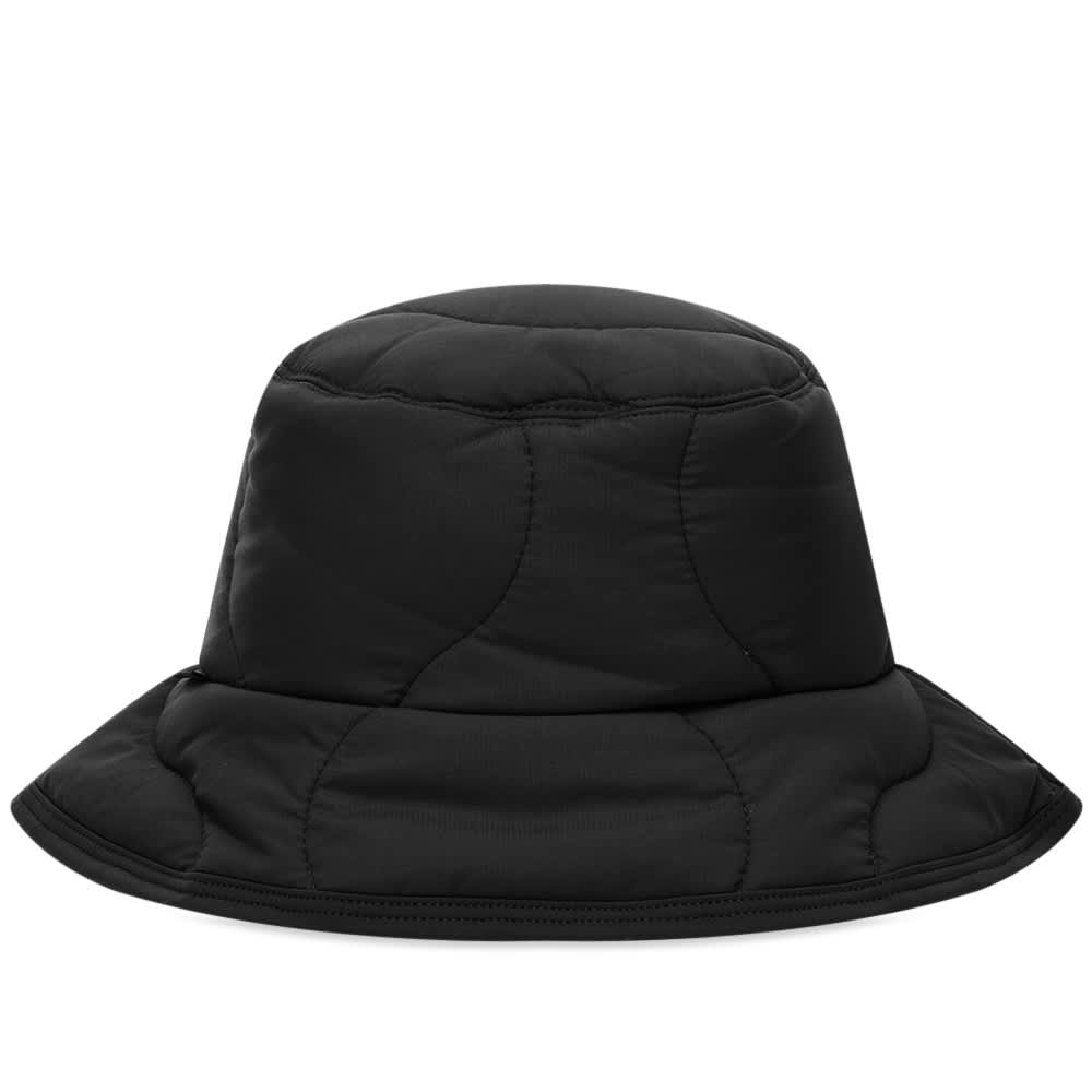 Aimé Leon Dore x Woolrich Quilted Bucket Hat - Black