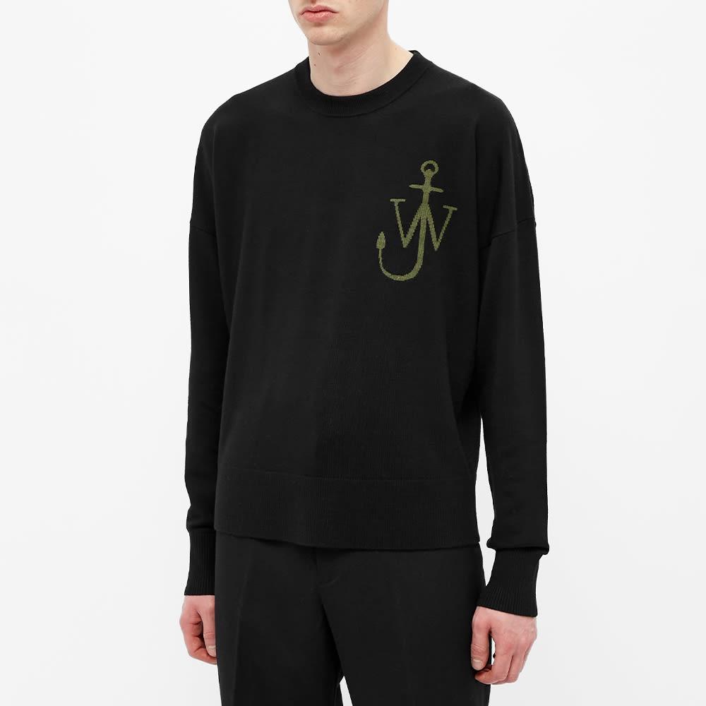 JW Anderson Anchor Crew Knit - Black