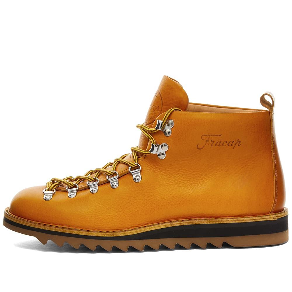 Fracap M120 Ripple Sole Scarponcino Boot - Mustard