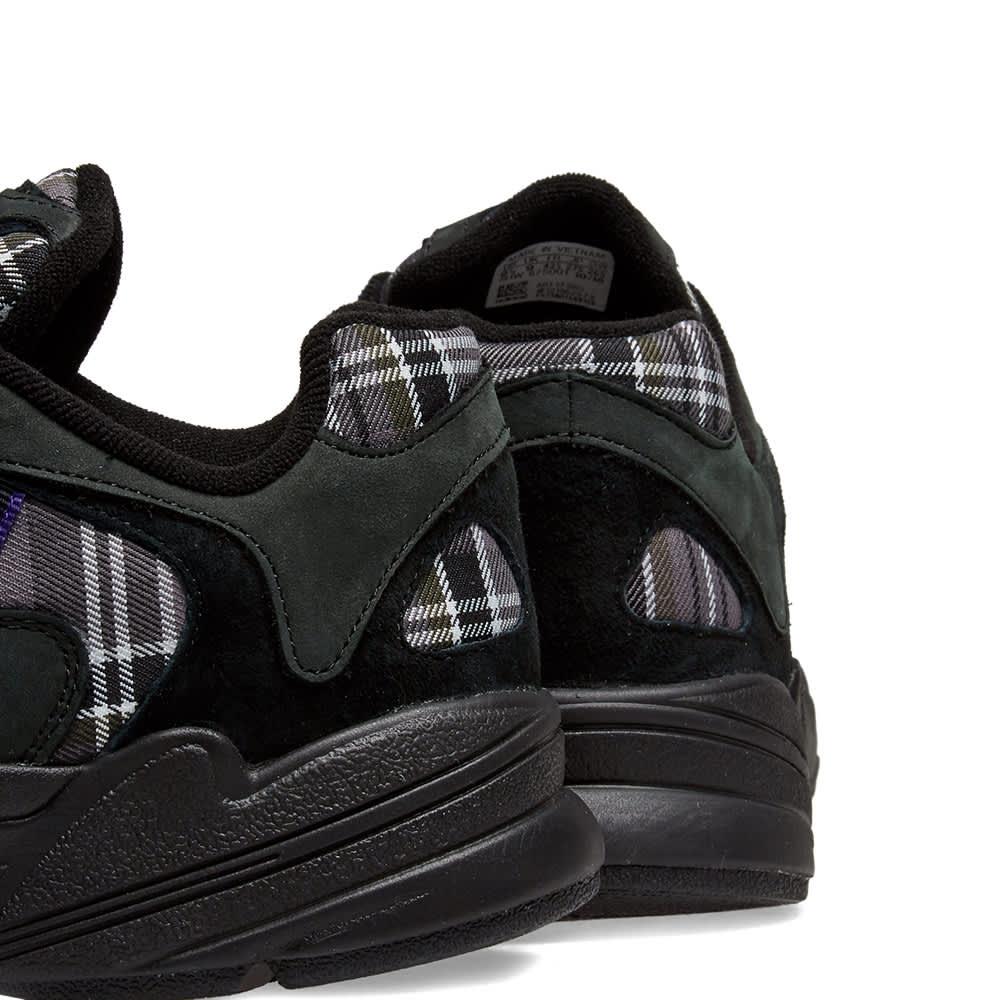 Adidas Yung 1 - Black & Purple