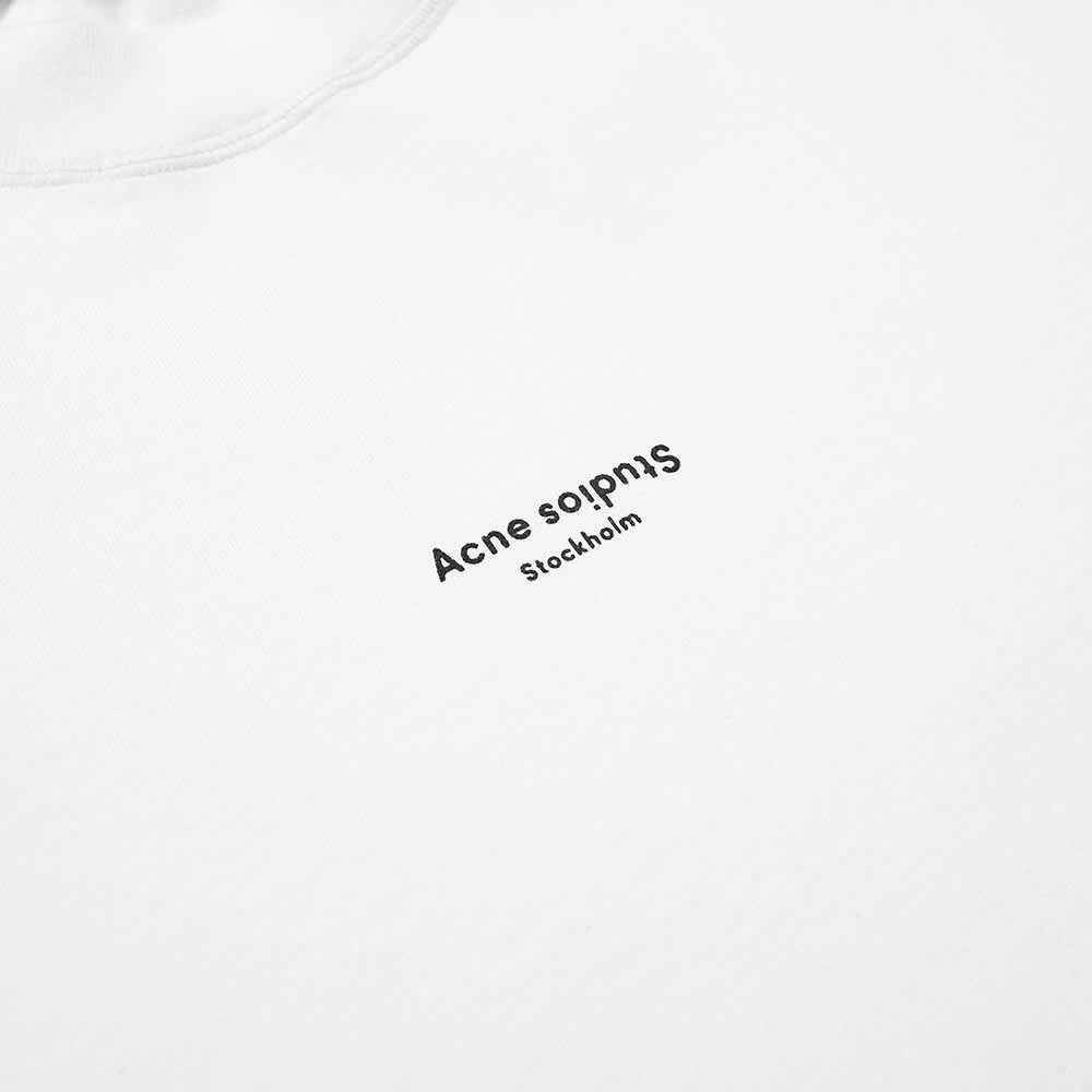 Acne Studios Extorr Stamp Logo Tee - Optic White