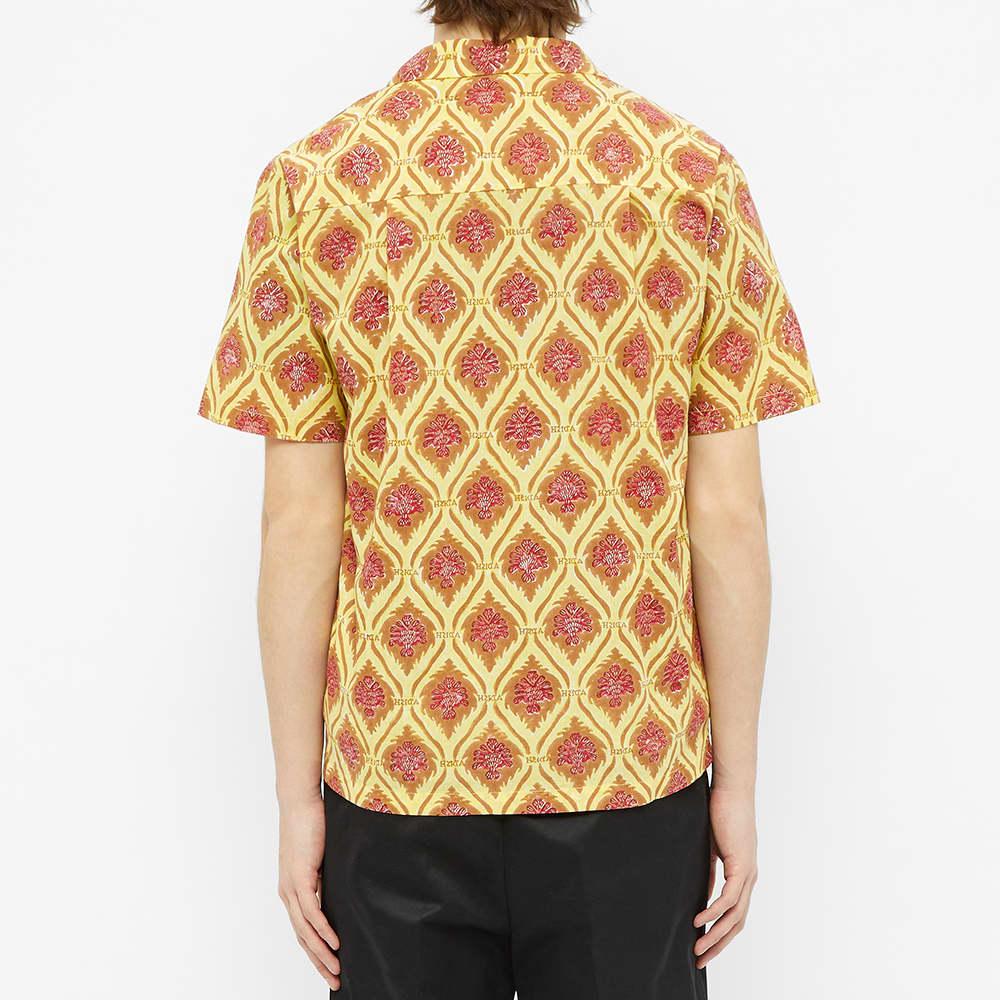 ADISH Sawsana Vacation Shirt - Yellow & Brown