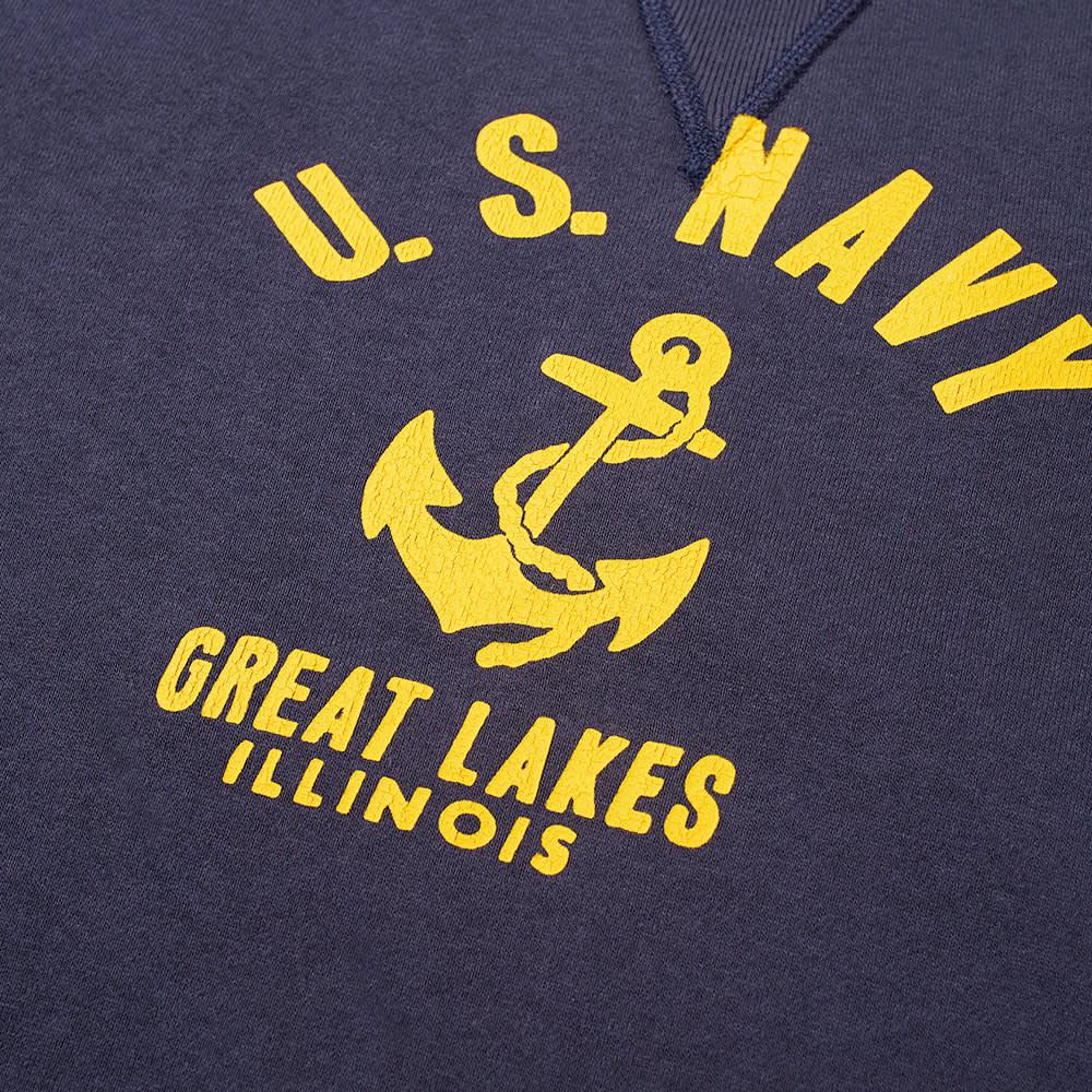 The Real McCoy's U.S. Navy Anchor Crew Sweat - Navy