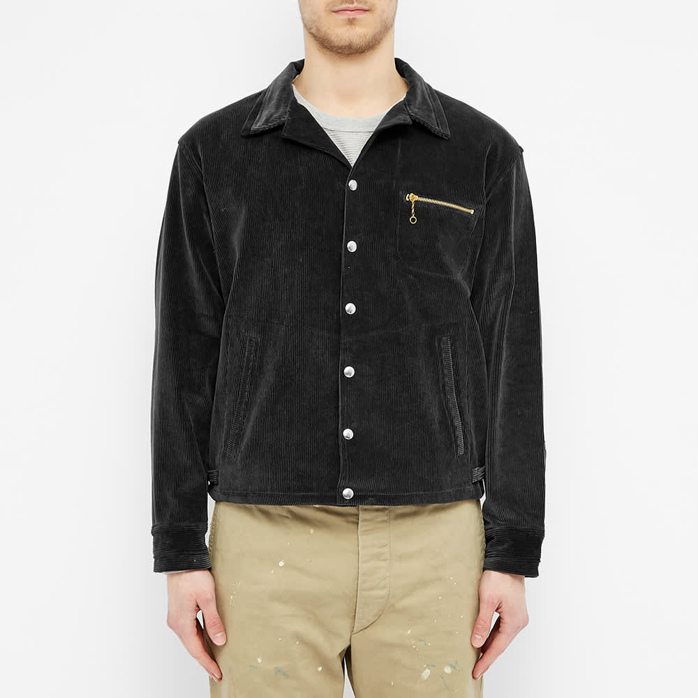 The Real McCoy's 30s Corduroy Sports Jacket - Black