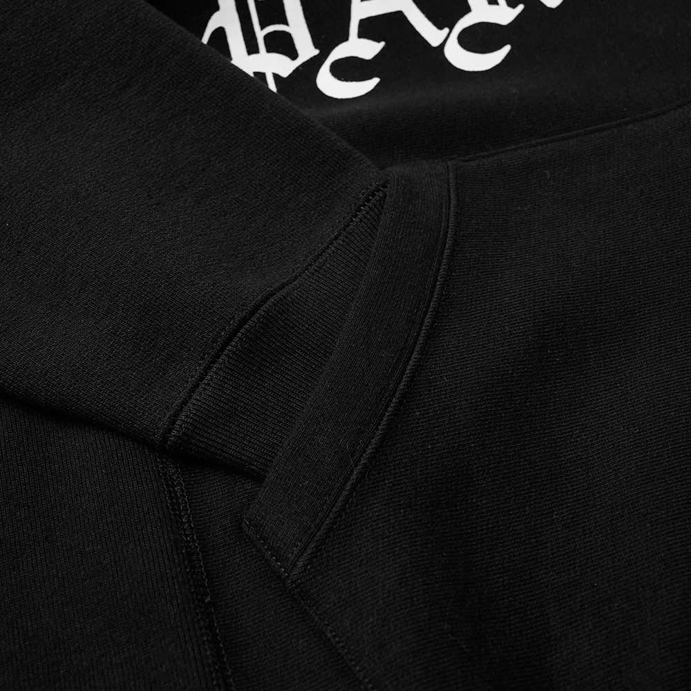Wacko Maria Heavyweight Popover Hoody - Black