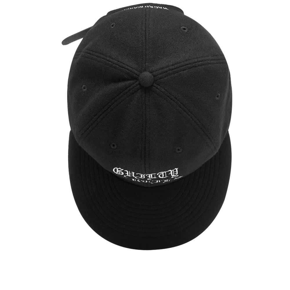 Wacko Maria Wool 6 Panel Cap - Black