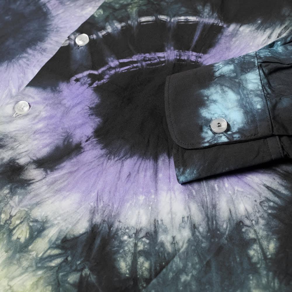 Aries Tie-Dye Headlights Shirt - Multi