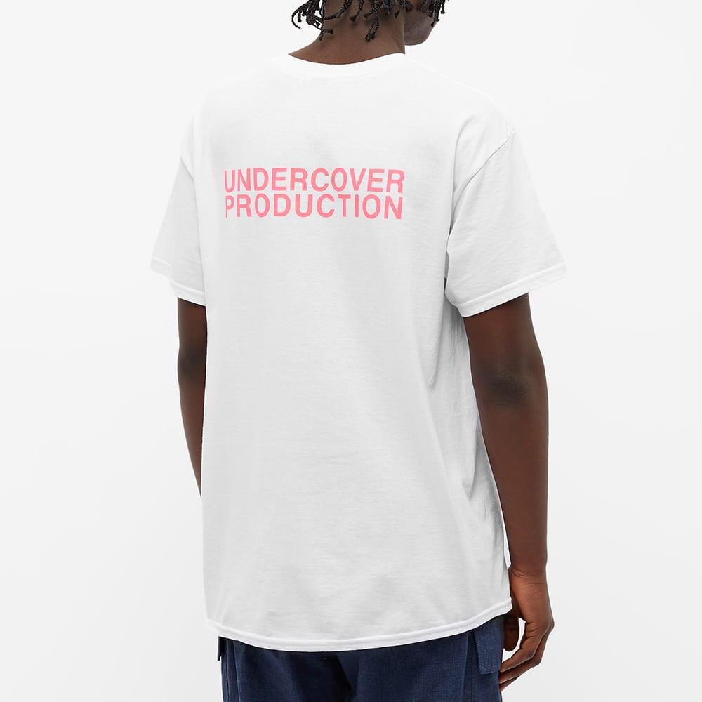 Undercover SN Fluorescence Tee - White